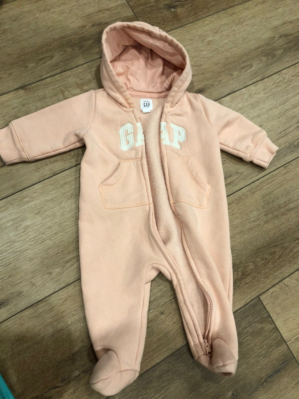 Baby gap girls sweater suit full zip