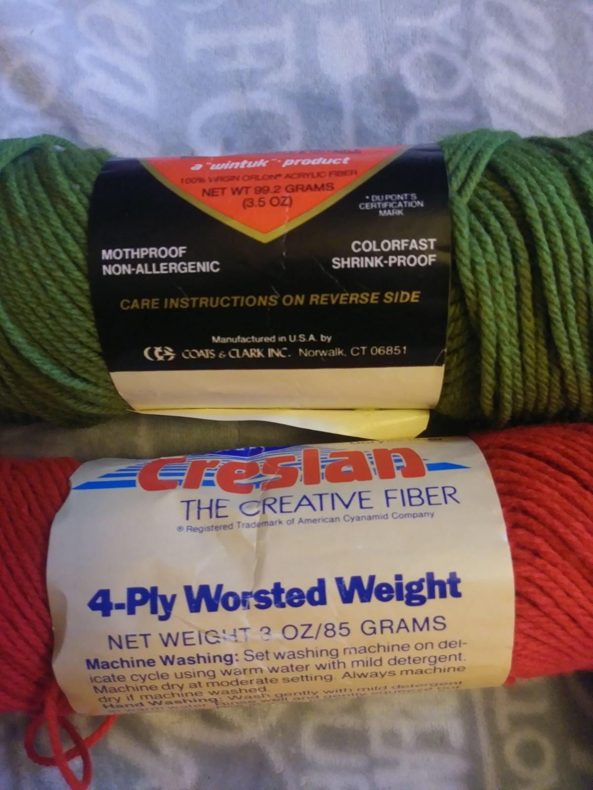New- vtg. Yarn lot