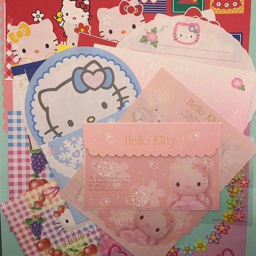 Sanrio vintage Hello Kitty letter sets