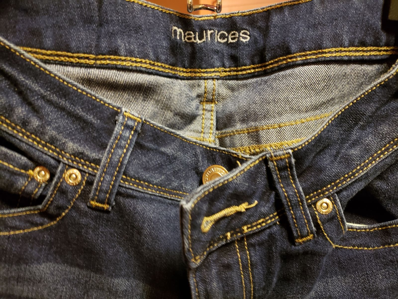 Womens Maurices Jeans