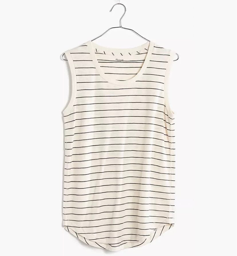 Madewell Cotton Tank Top