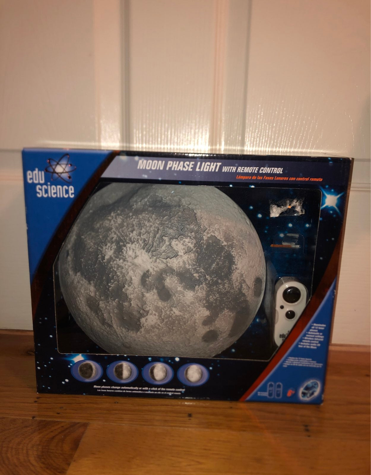 Moon Phase Light with Remote Control