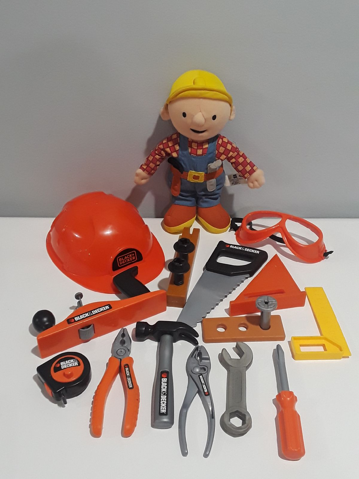 Black & Decker toy tool Lot