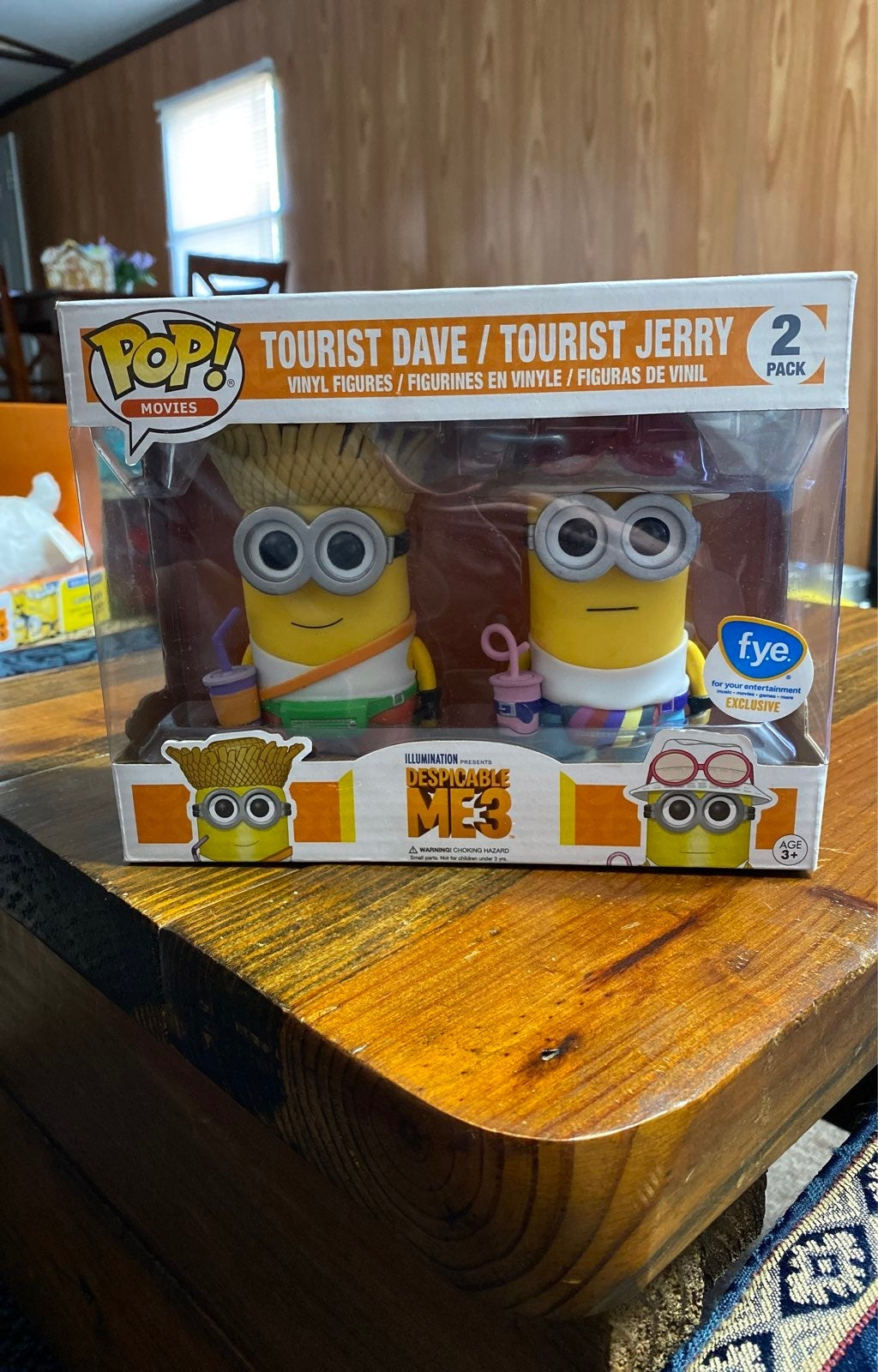 Funko Pop Despicable Me 3 Tourist Dave/T