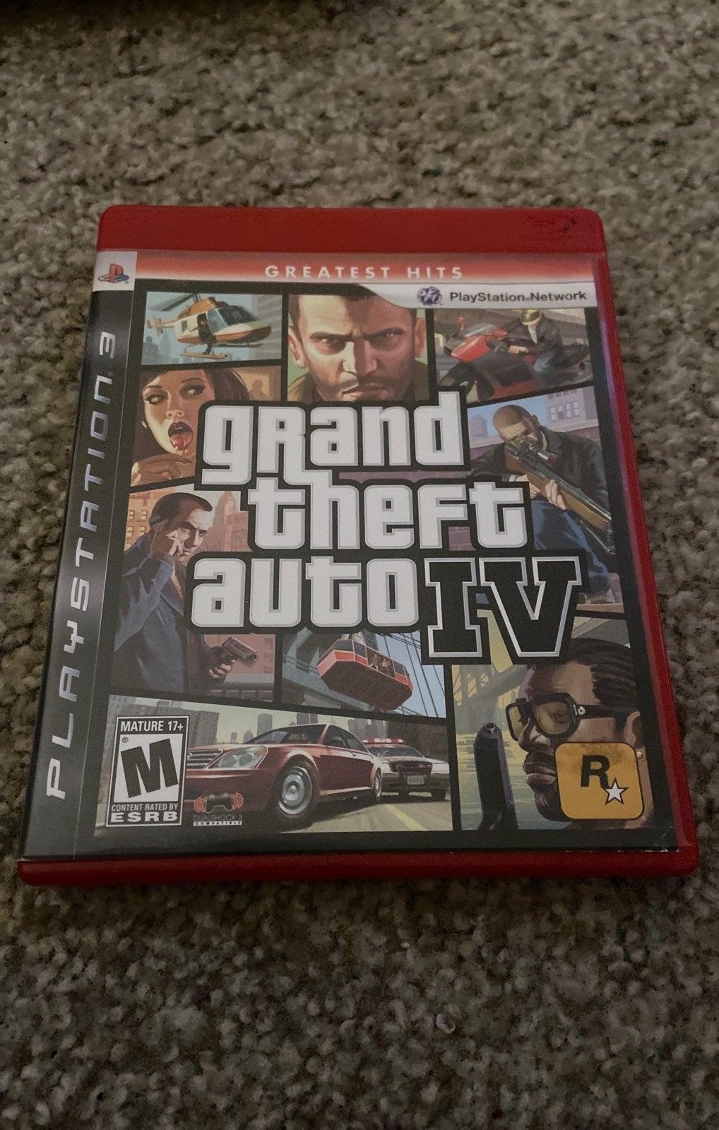 grand theft auto IV - ps3