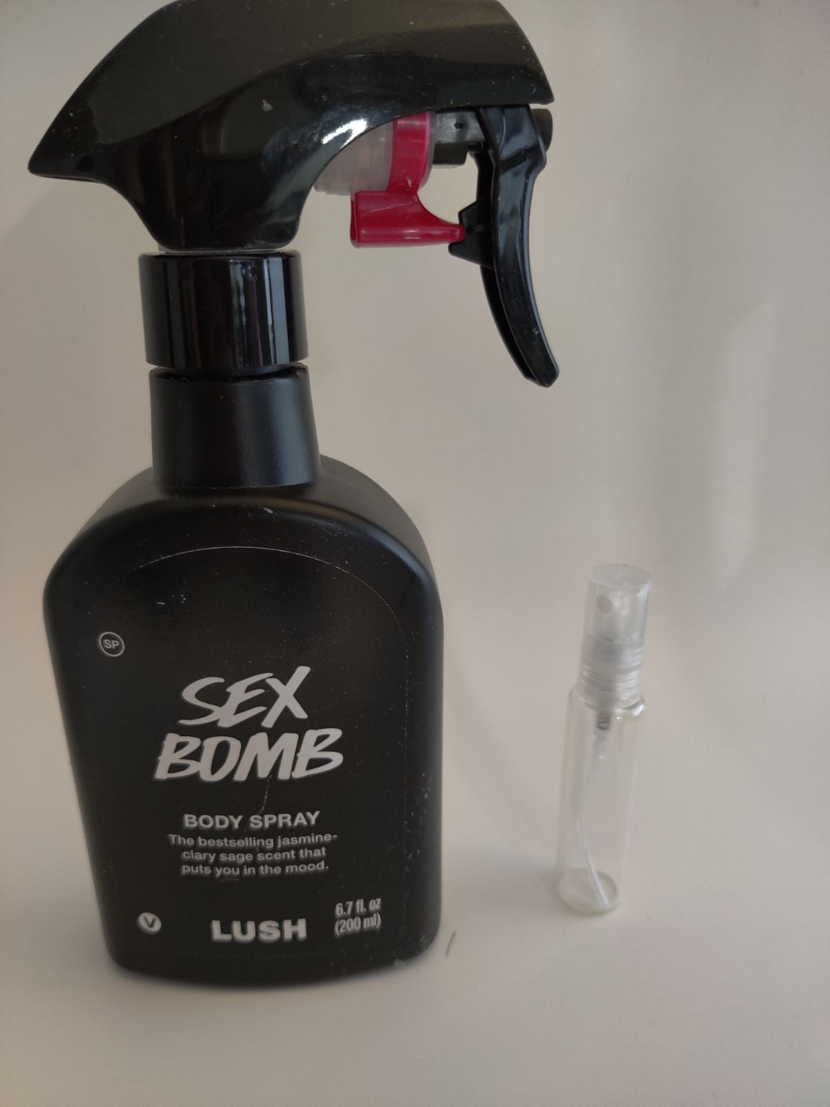 Lush body spray 10 ml
