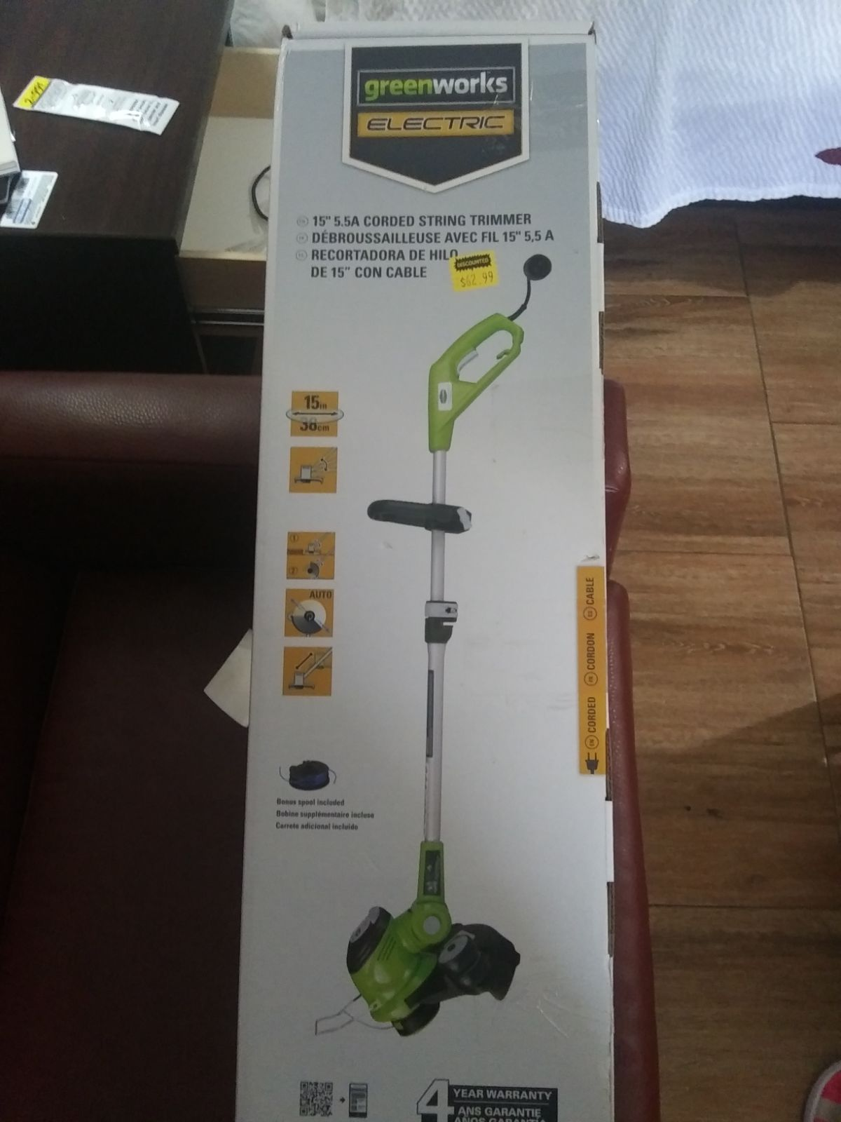 Greens works electric weed trimmer /weed