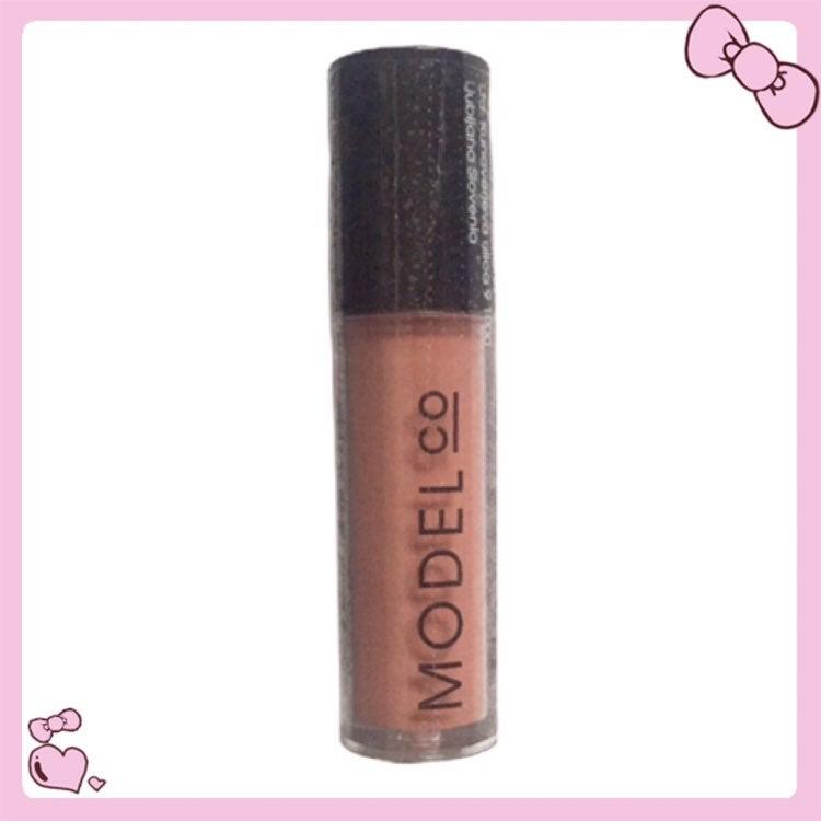 Matte Lip Creme Gloss Peachy Nude Mini