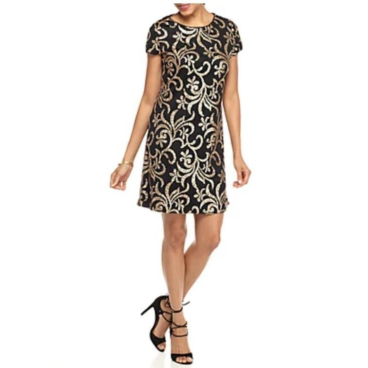 Jessica Simpson Sequin Shift Dress