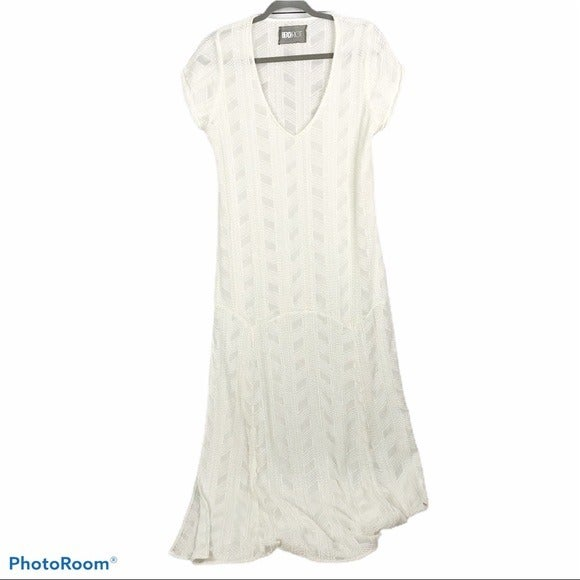 Beach Riot off white maxi cover up dress