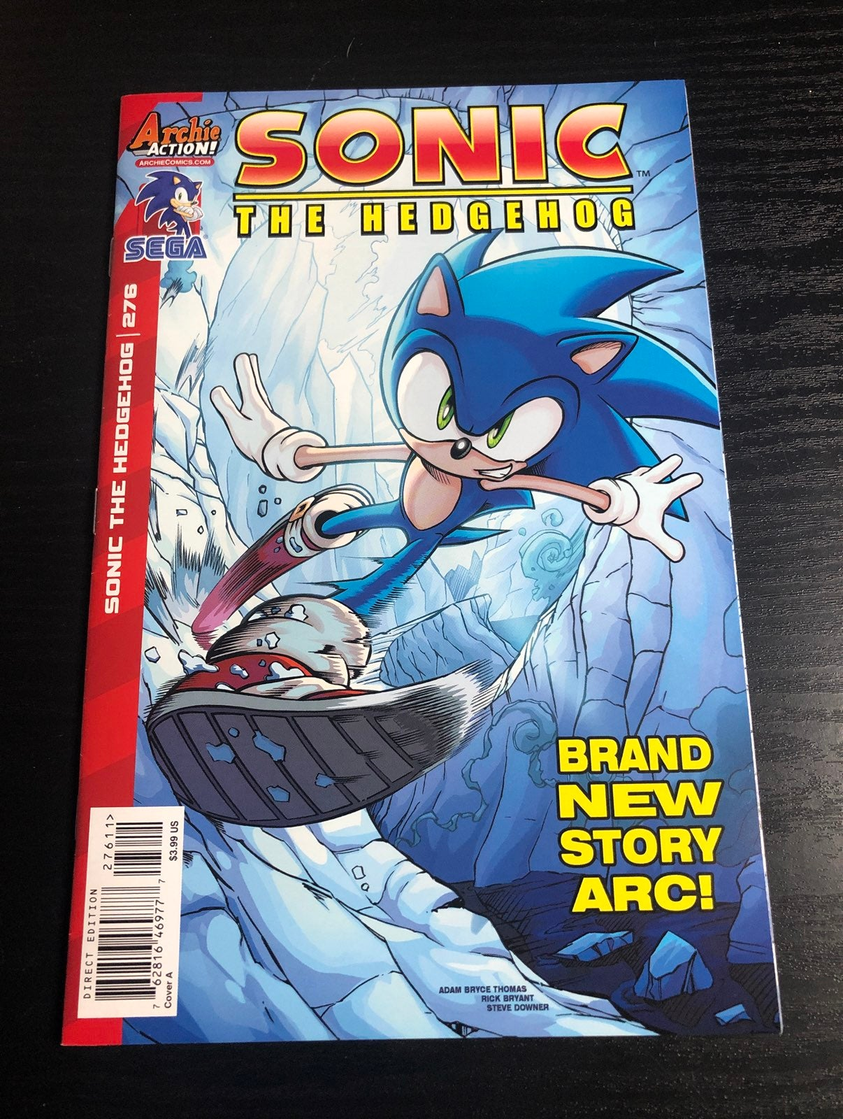 Sonic the Hedgehog comic issue 276