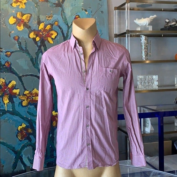 Button down shirt in size M by Ted Baker