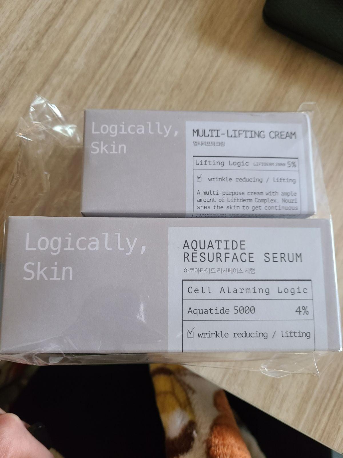 Logically Skin lifting cream & resurface