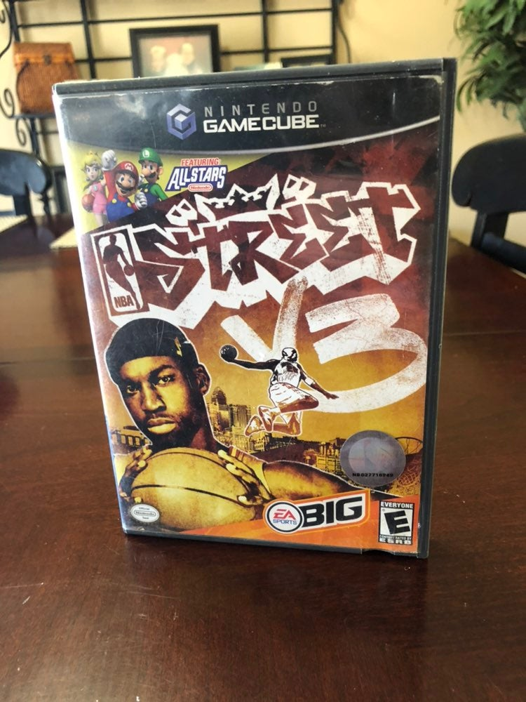 NBA Street V3 on Nintendo GameCube