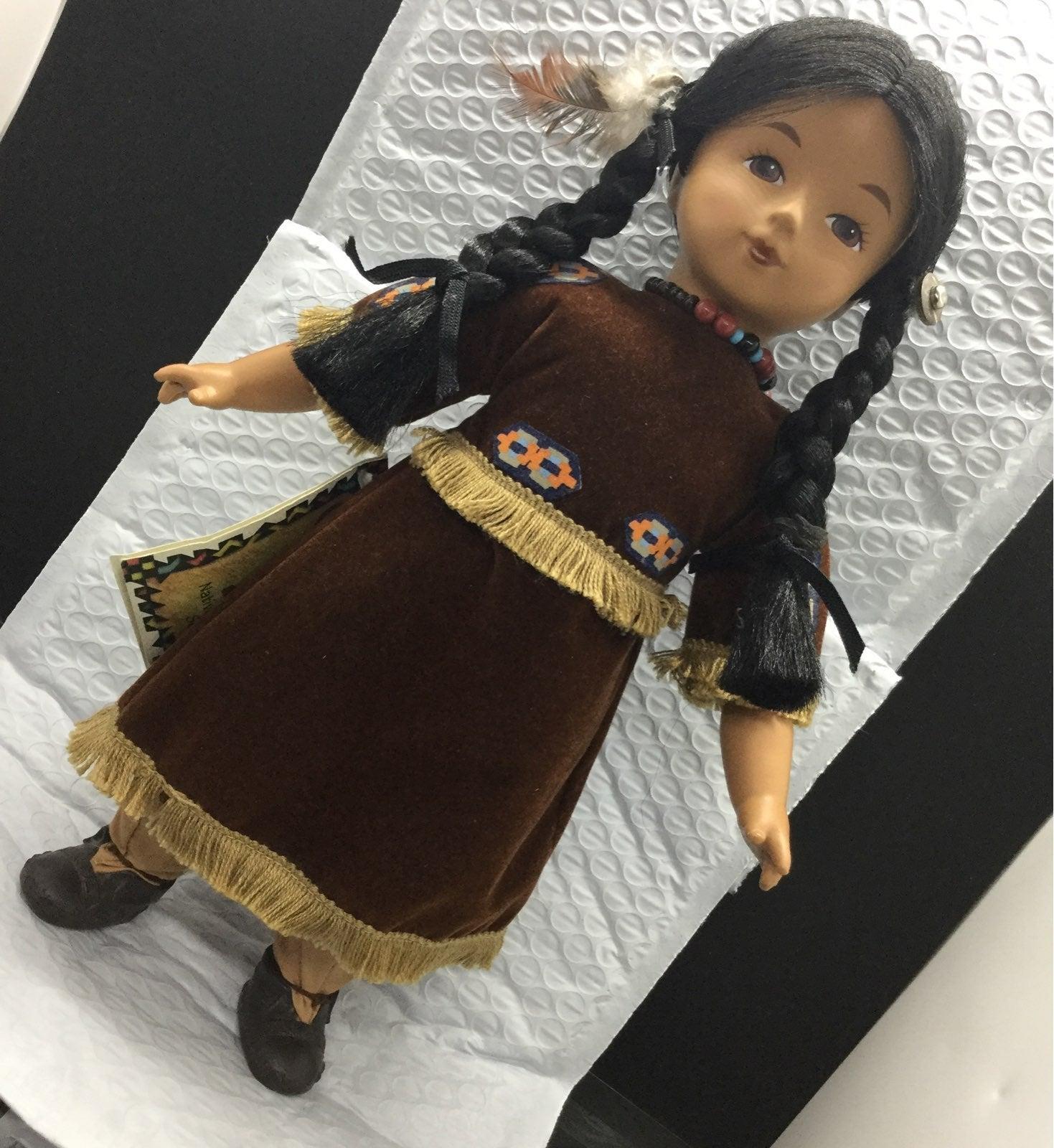 Native American Doll Happy Moon