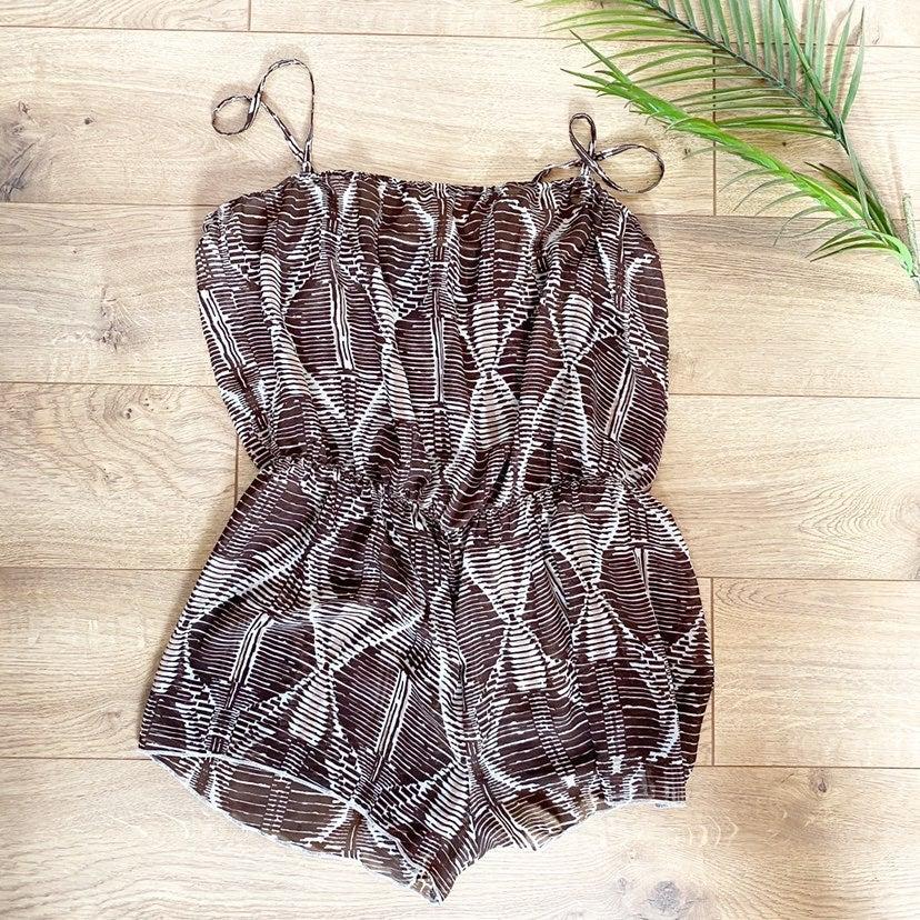 H&M swimsuit romper coverup