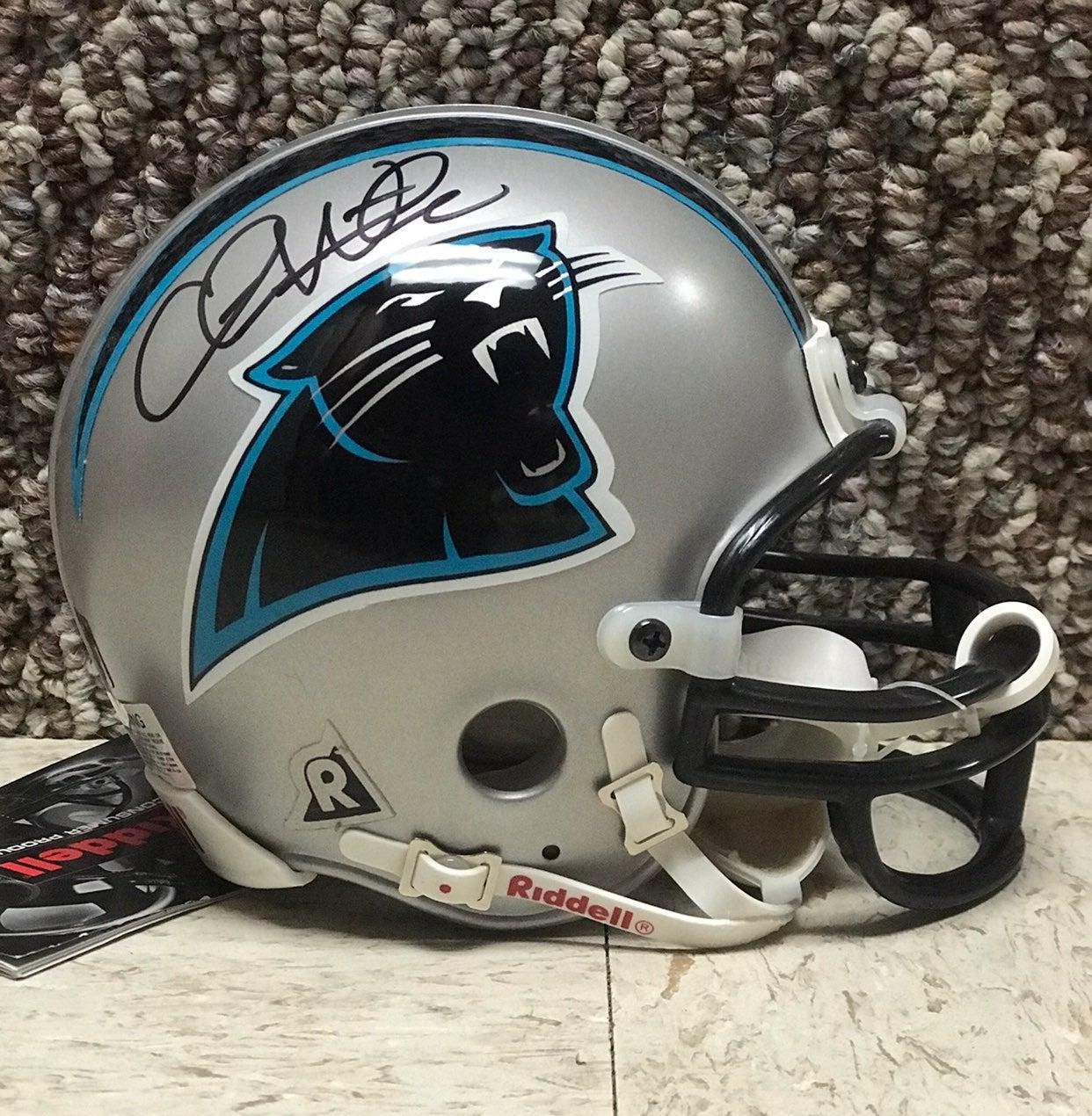 Carolina Panthers Chris Weinke Helmet