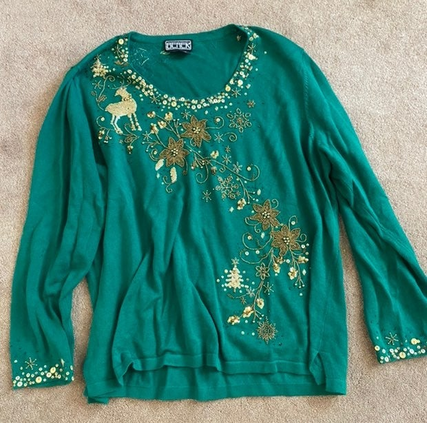 Womens Holiday Sweater -1X