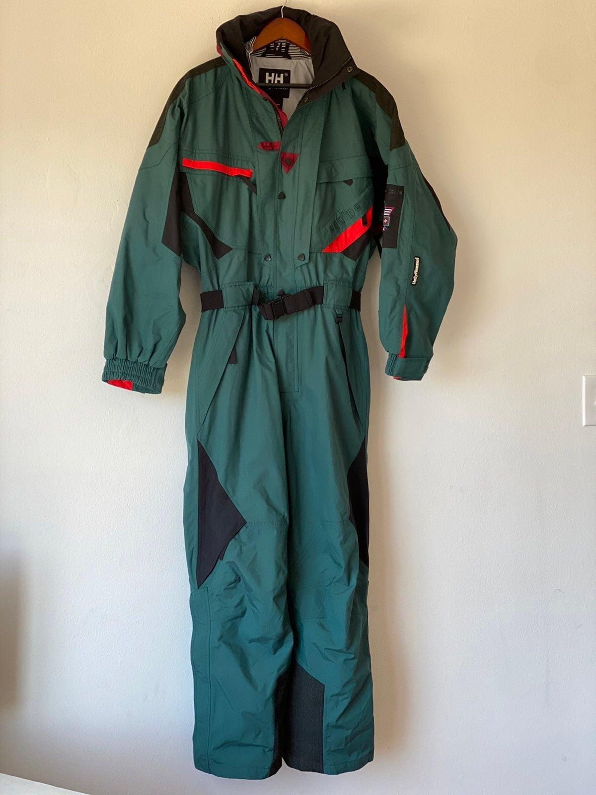 Vintage 90s Helly Hansen Equipe Ski Suit