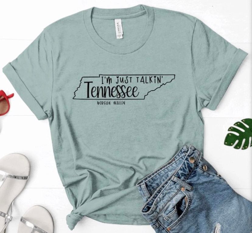 XL Wallen Talking Tennessee Soft Tee