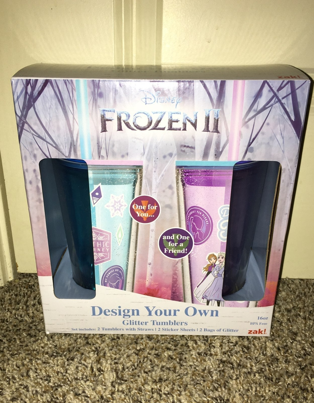 Frozen 2 design your own tumblers