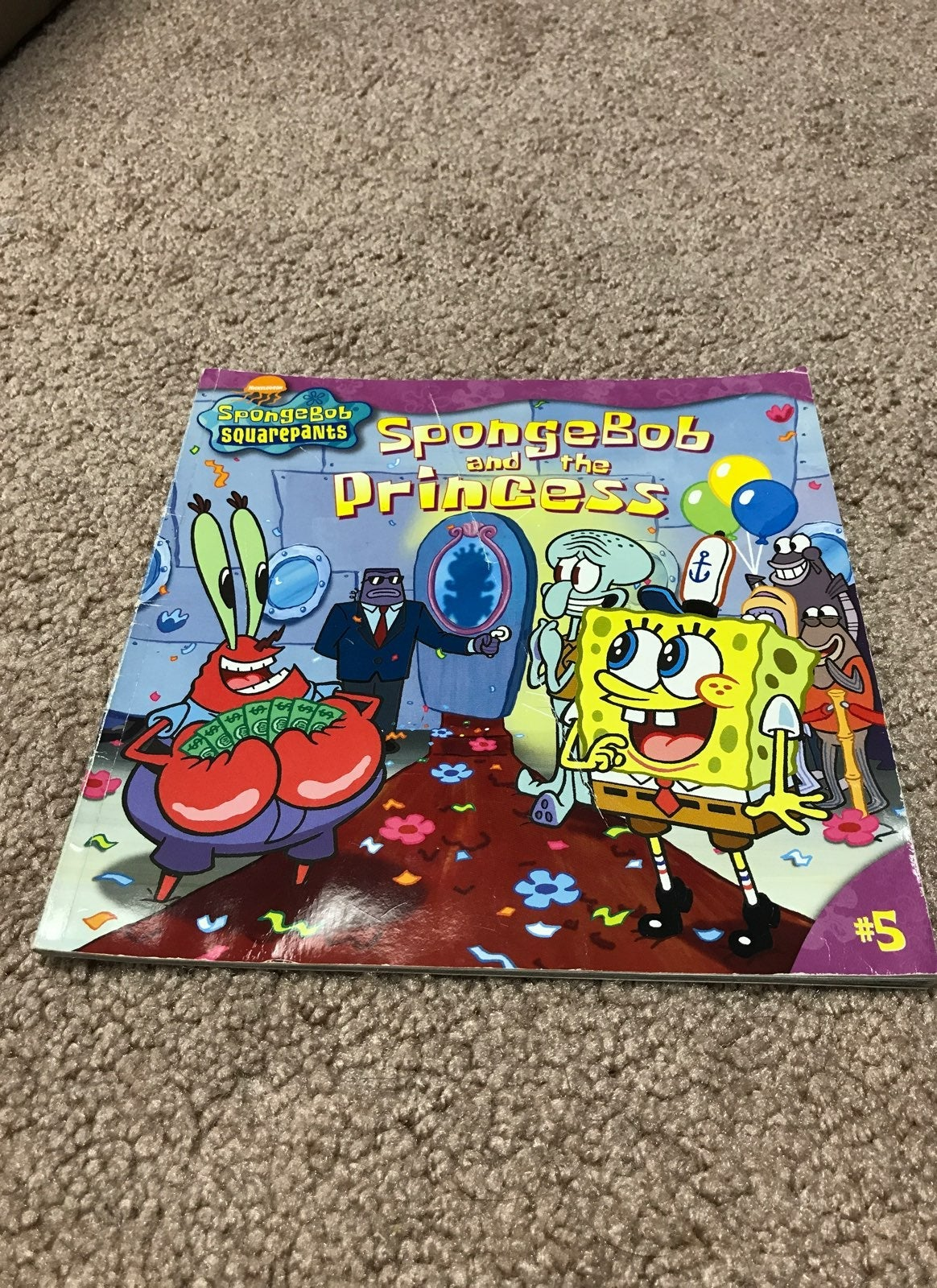 Sponge-bob Squarepants Kids Book