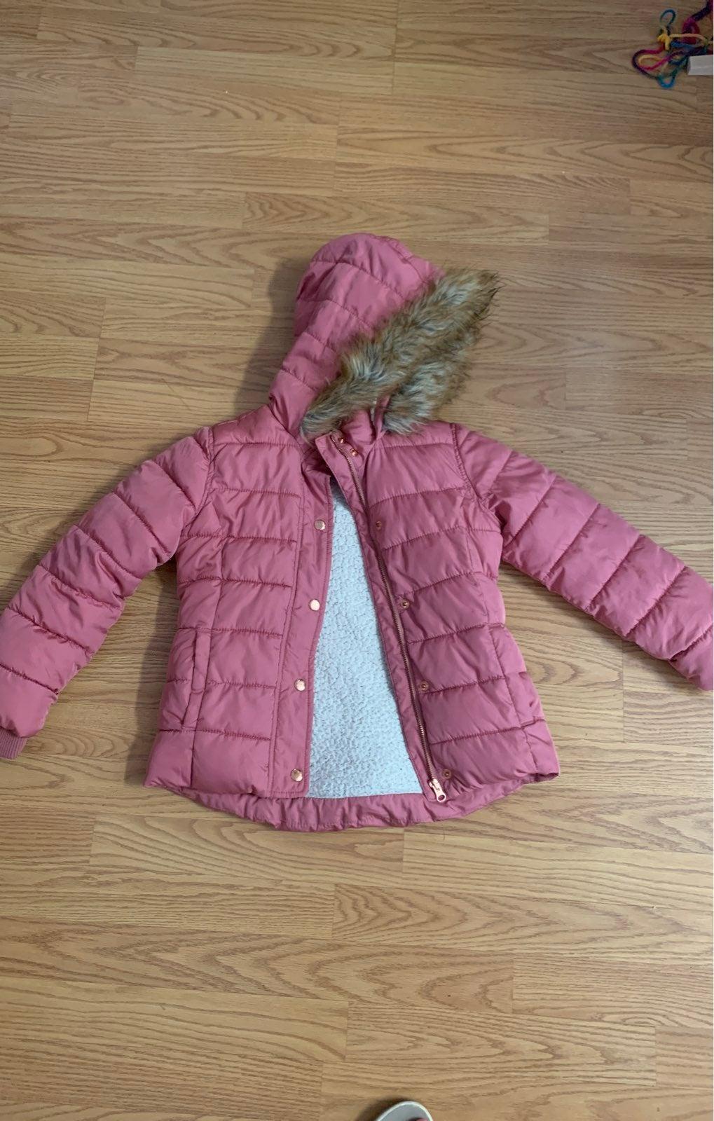 Girls Coat Size 8