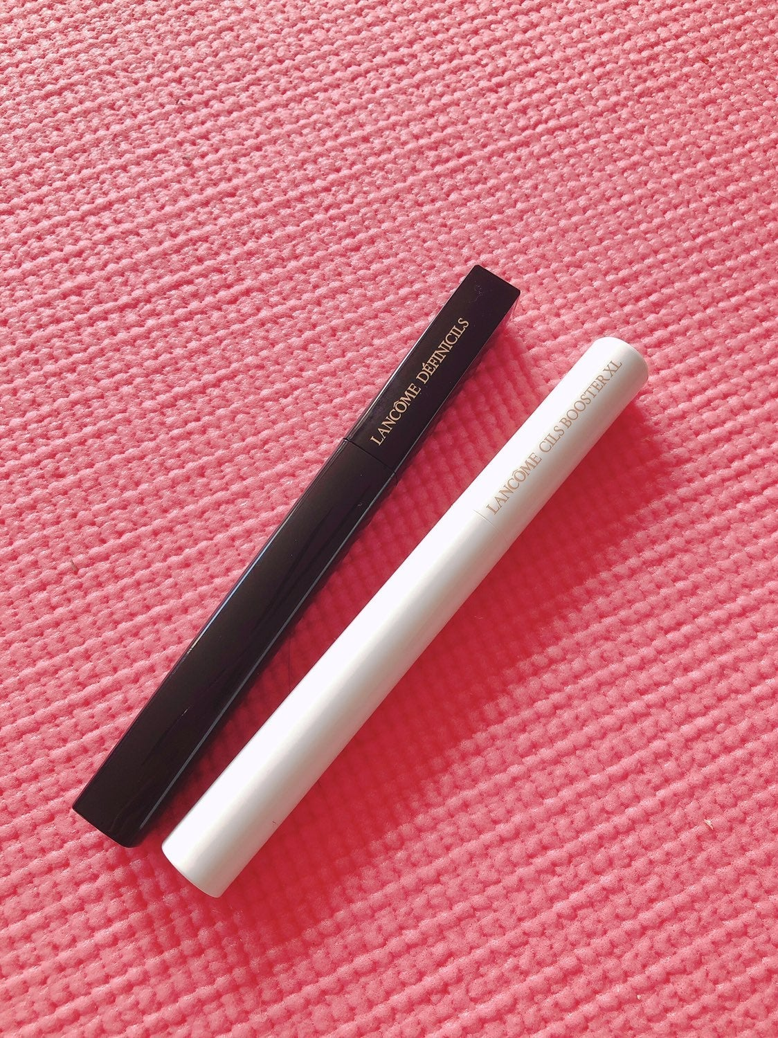 lancome mascara and CILS Booster
