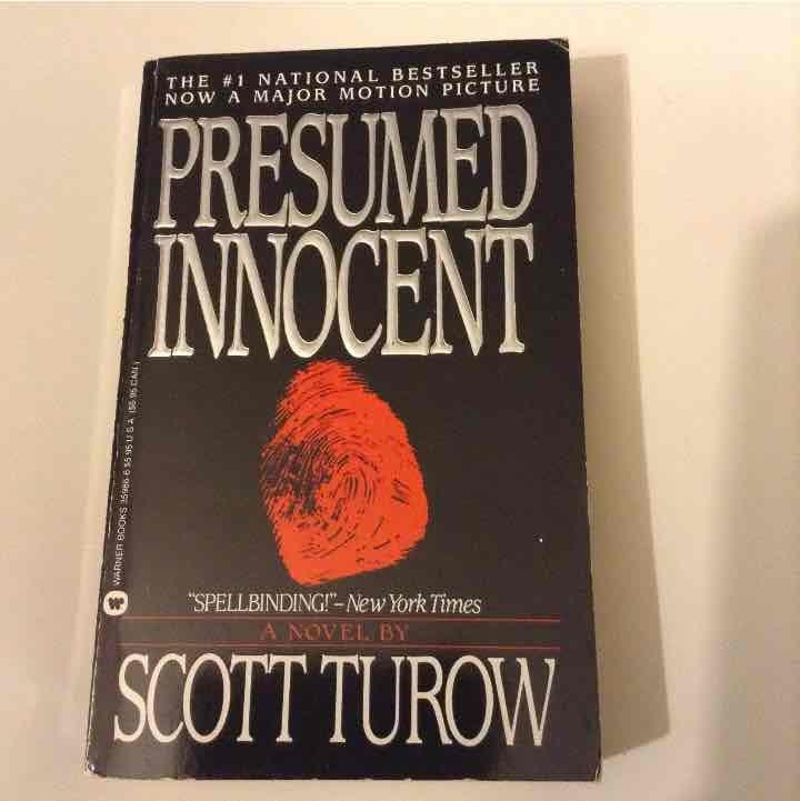 Scott Turow Presumed Innocent