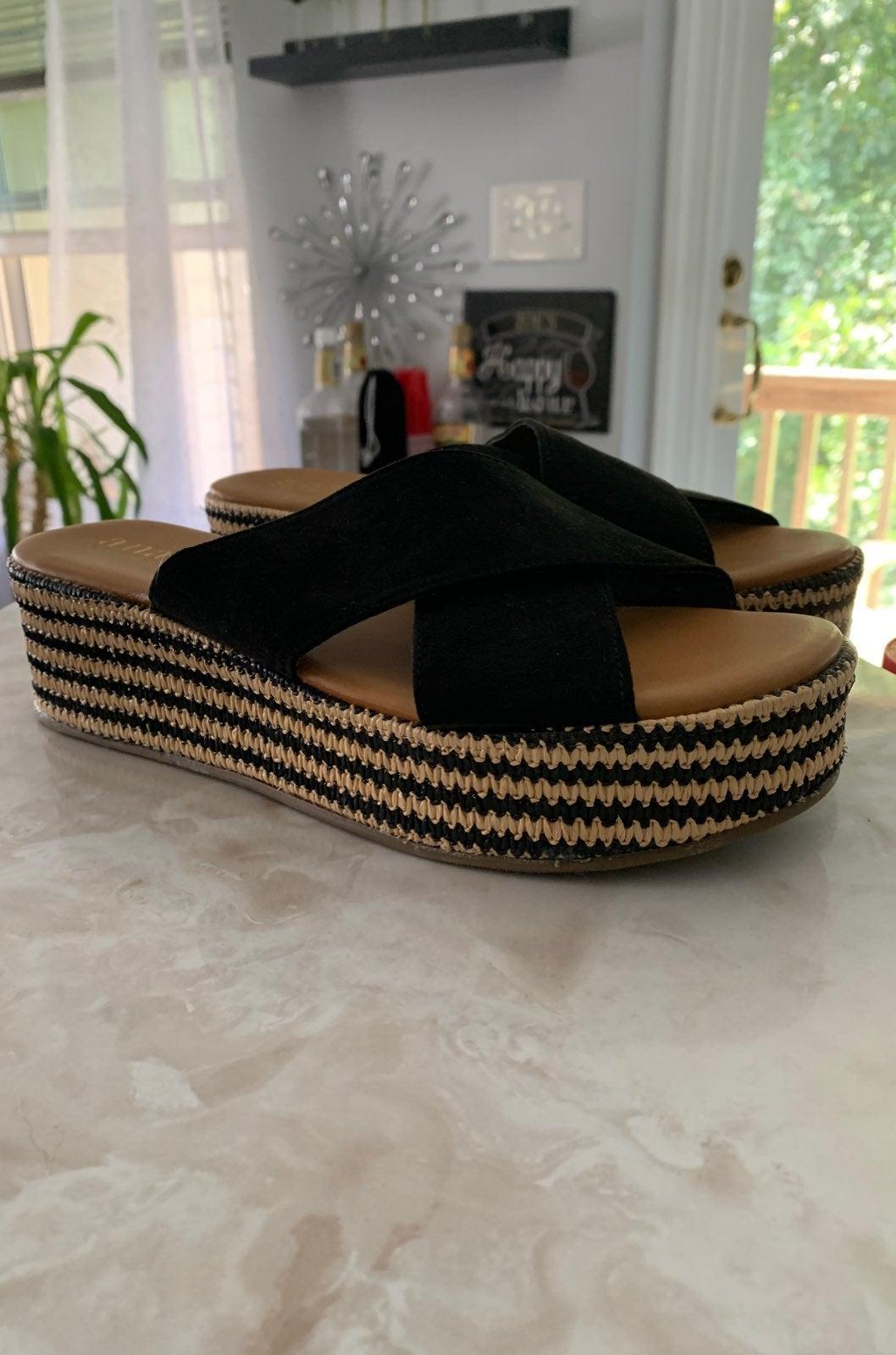 Sandals Brown & Black