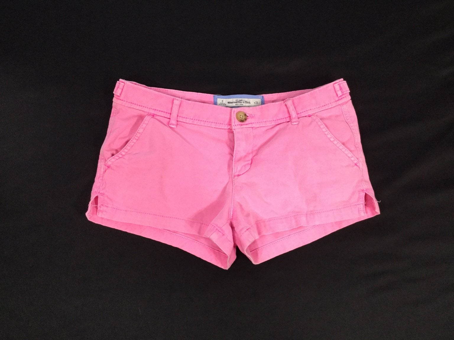 Abercrombie..women mini shorts..size 25