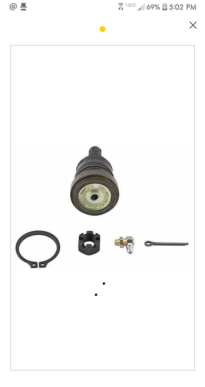Lower Front Ball Joint (MOOG)