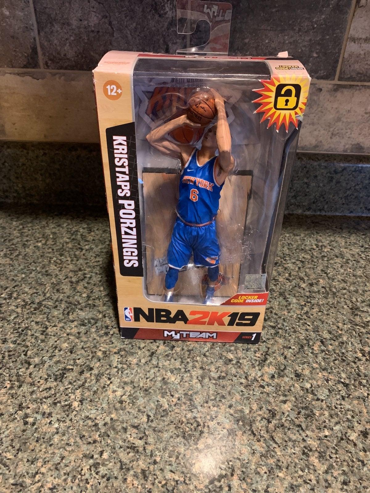 NBA 2k19 Kristaps Porzingis