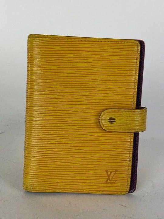 Louis Vuitton Yellow Epi Small Ring Agen