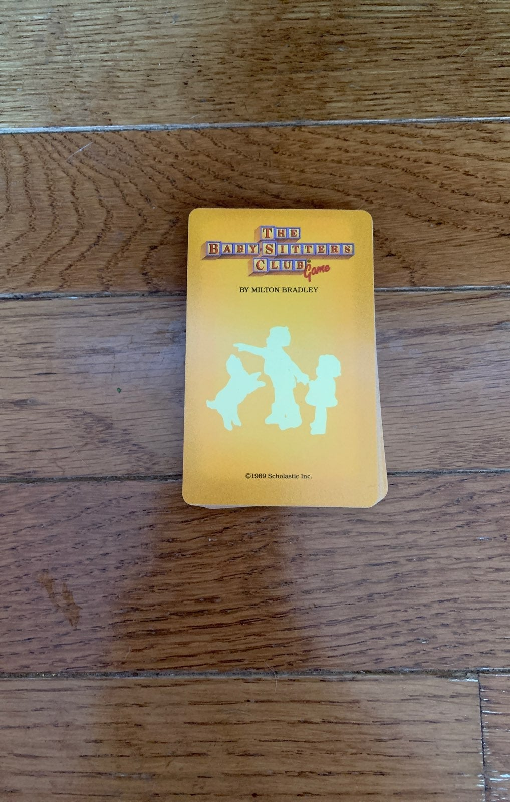 The babysitter's club game yellow cards