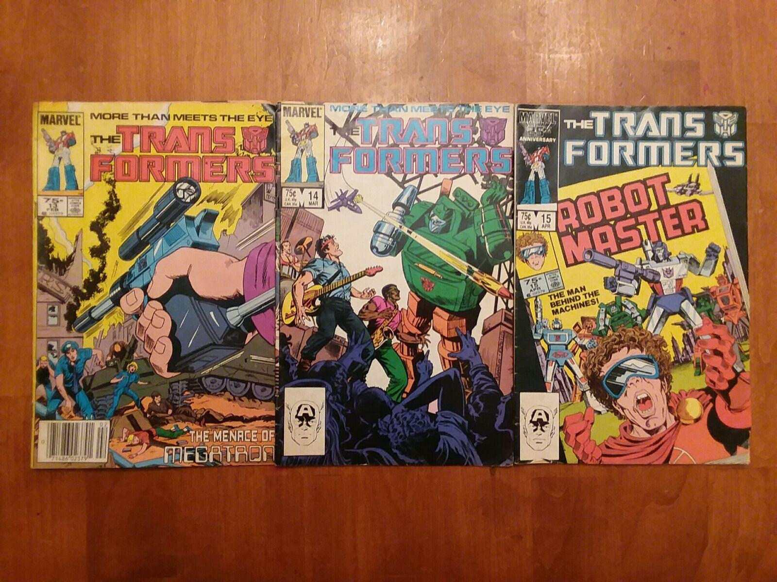 Marvel Comics Transformers #13 14 15