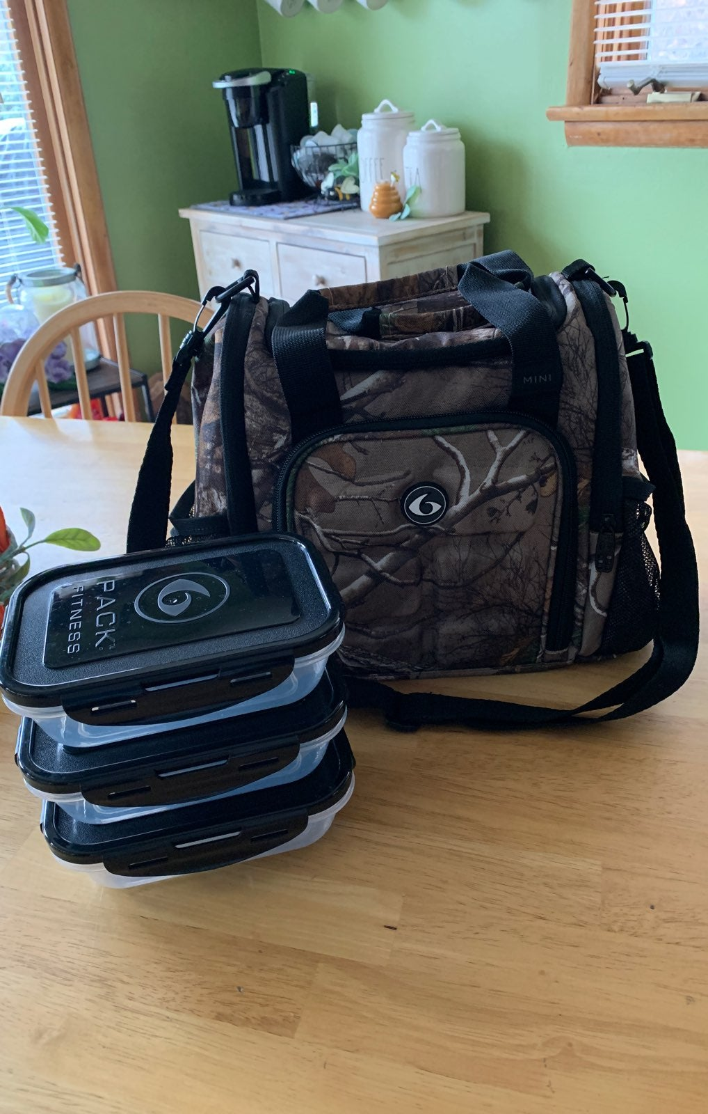 Six Pack Fitness Meal Bag