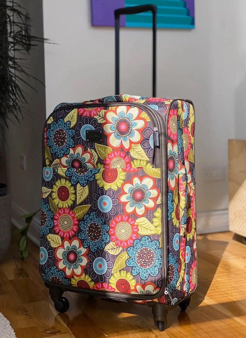 Vera Bradley Large Spinner Luggage