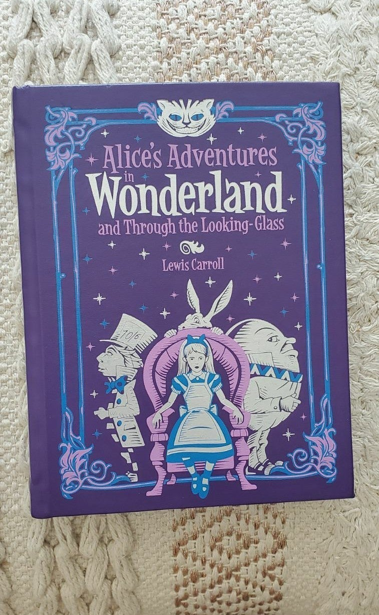 Alice In Wonderland Leather Cover Book