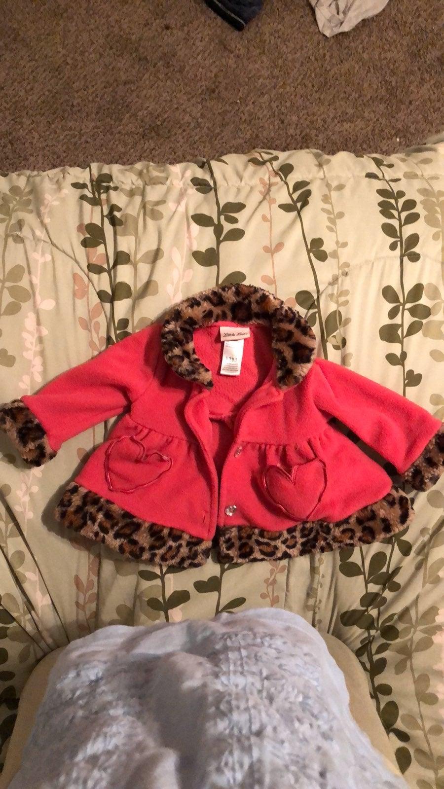 Little Lass 12 month winter coat
