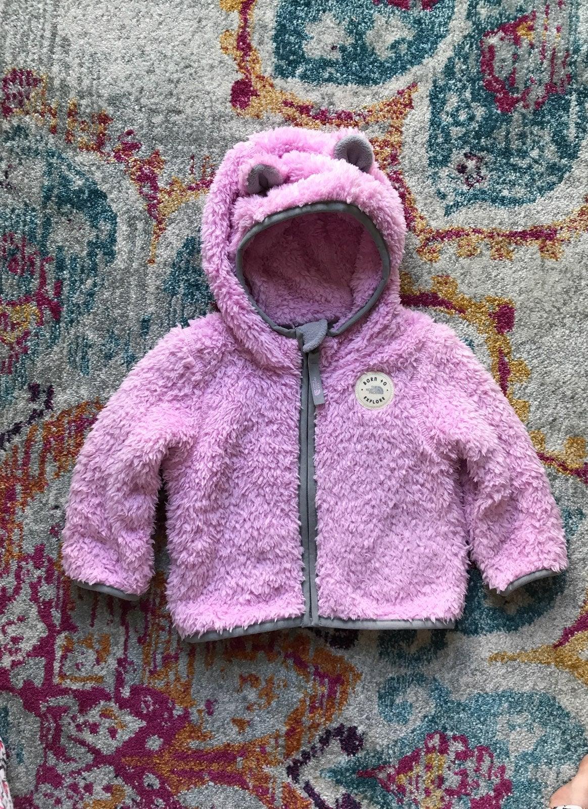 Babygirl Northface Jacket 6-12 Months