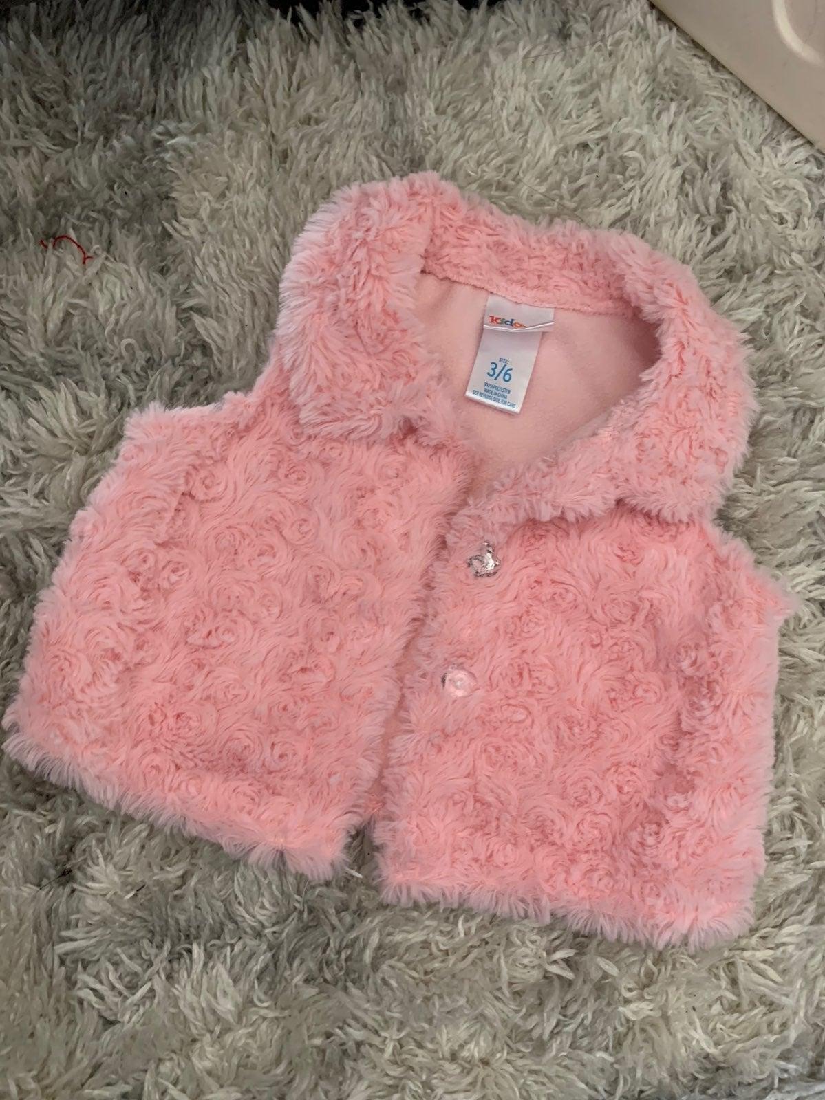Baby girl vest 3-6m