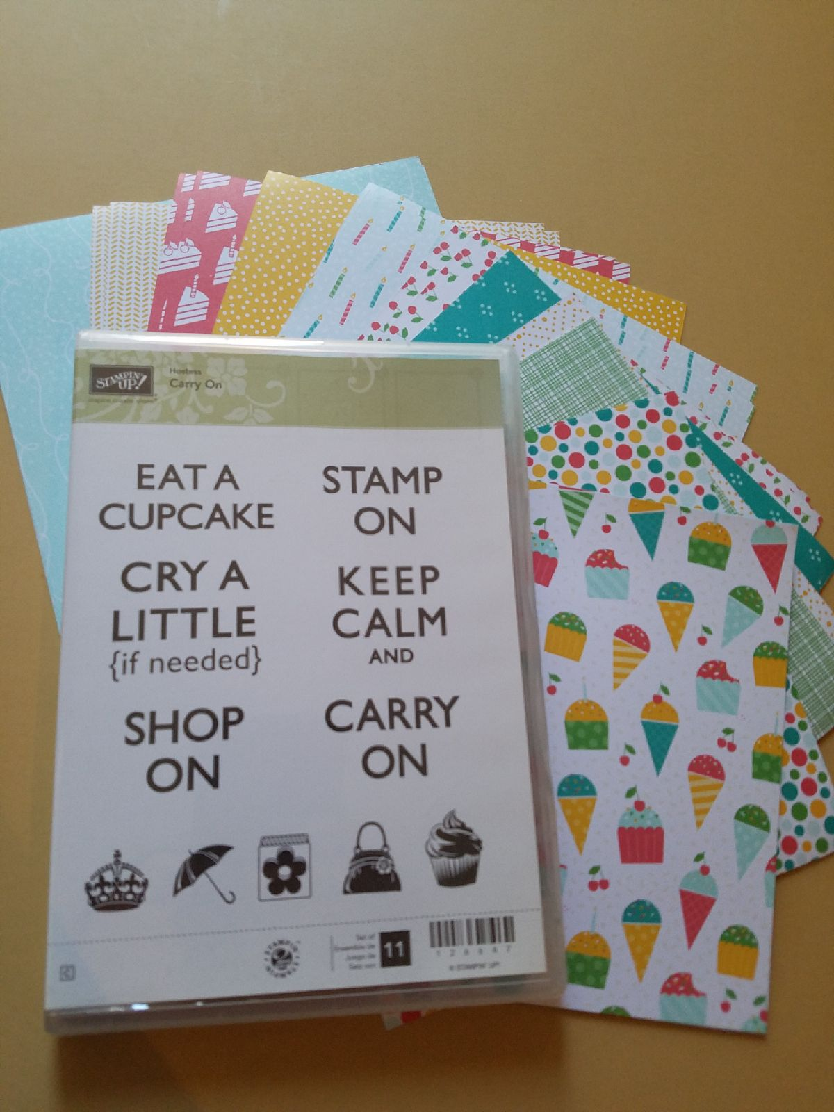 Stampin Up CARRY ON