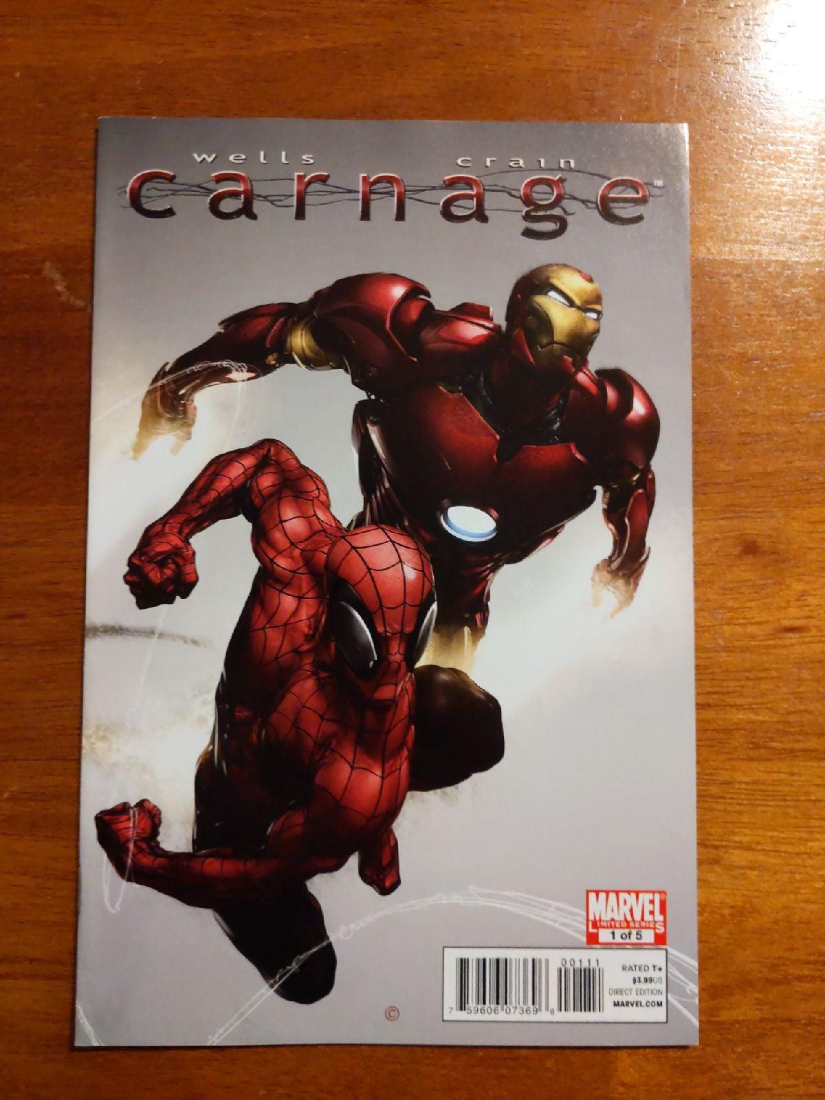 Carnage #1 ~ 2010 ~ Clayton Crain
