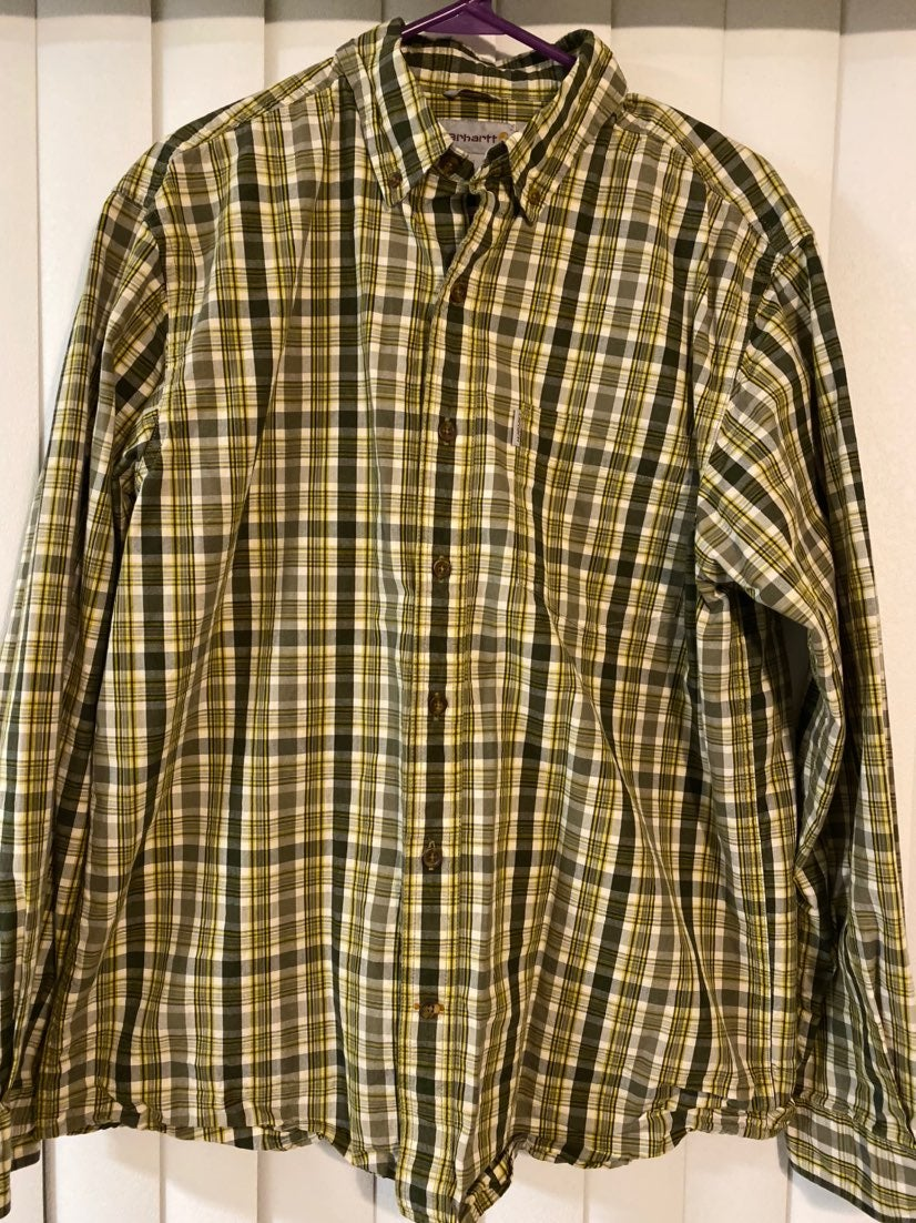 Carhartt Mens Button Down Shirt