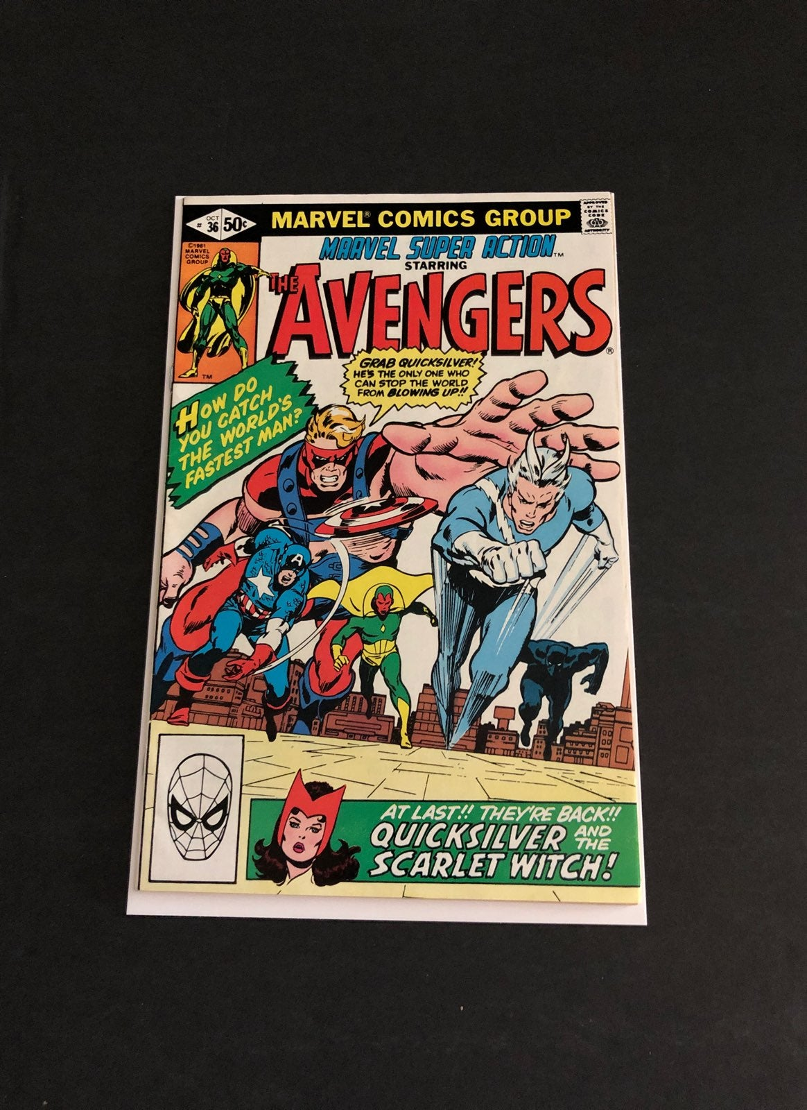 Marvel Super Action The Avengers 36 Oct