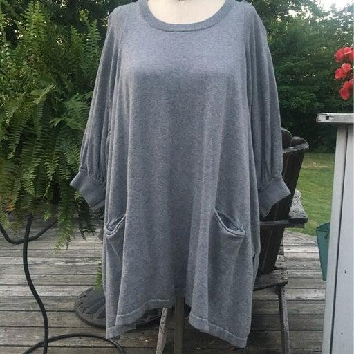 Tunic sweater dress