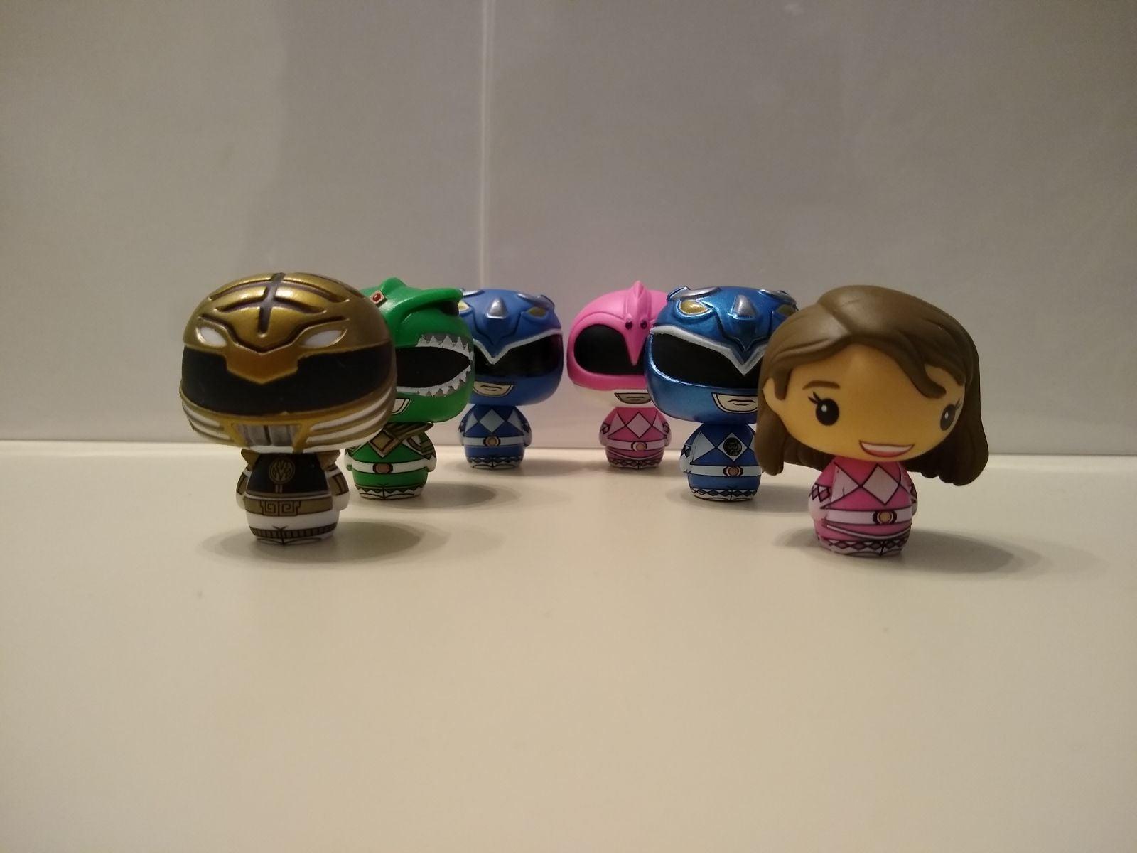 Power Rangers Funko Pint Size Heros