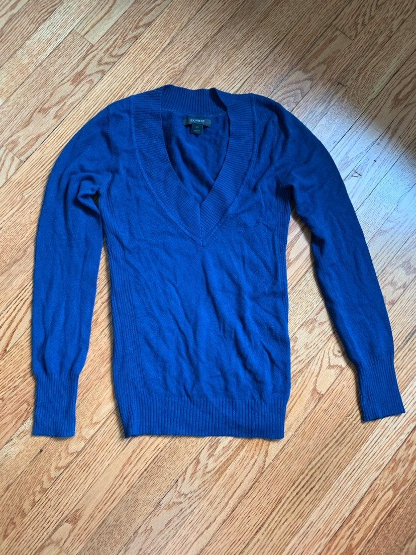 Express XS Sweater Blue