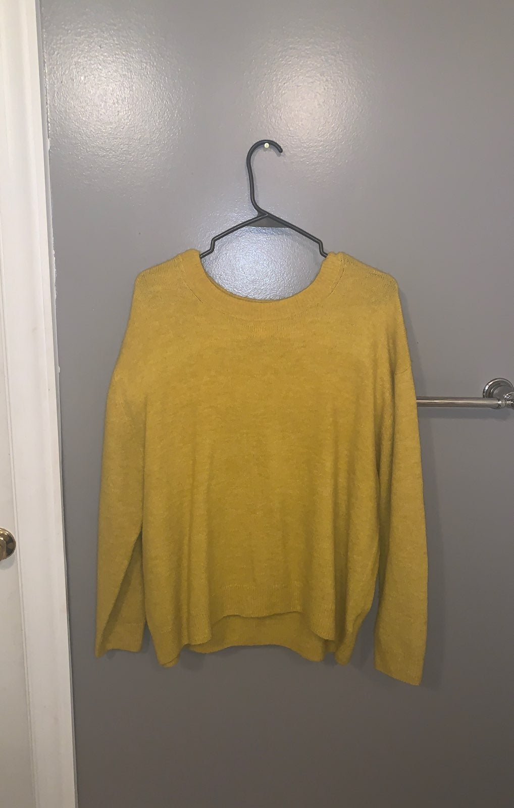Talbots vneck cotton Sweater size